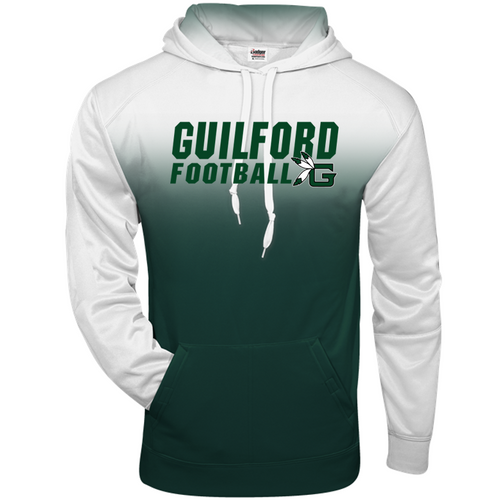 OMBRE HOODIE - Guilford Football