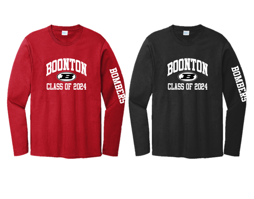 Cotton Long Sleeve - Boonton Class of 2024