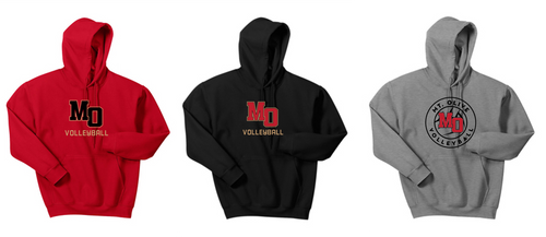 Hooded Sweatshirt - Adult - Mt. Olive Volleyball