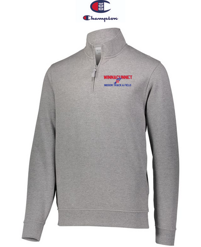 Champion Adult Quarter-Zip Pullover - Winnacunnet Indoor Track & Field