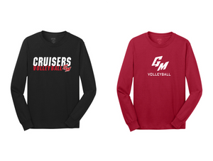 Fan Long Sleeve Tee Shirt- Adult - GM Volleyball