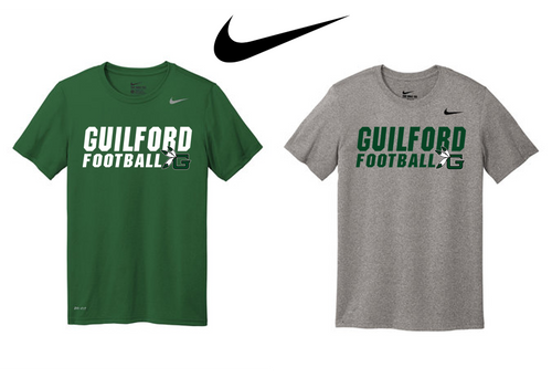 Nike Adult Legend Tee - Guilford Football