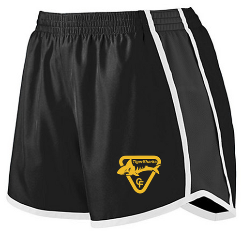 Ladies Pulse Shorts - Tiger Sharks Swimming