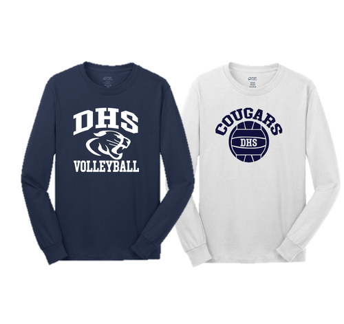 Adult Team Long sleeve- Delcastle Volleyball