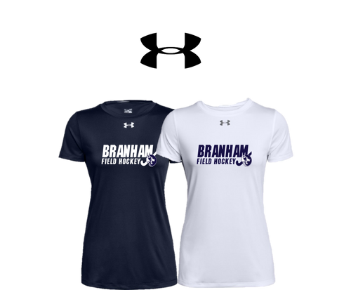 UA Women's Locker Tee 2.0 - Branham Field Hockey