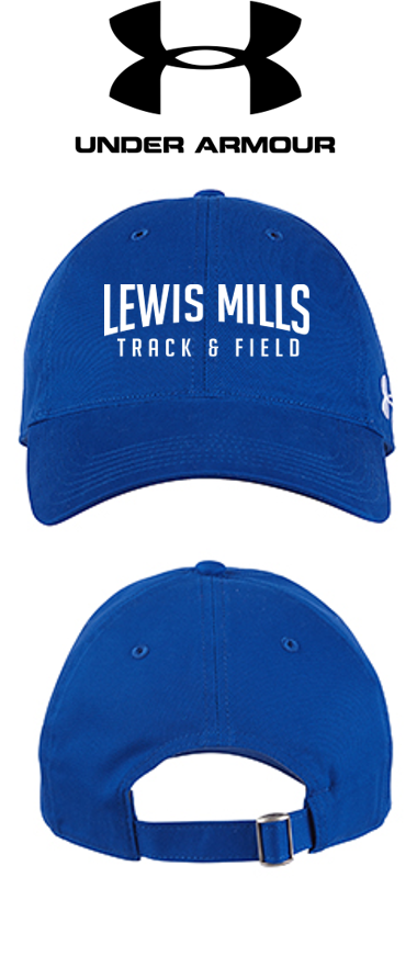 *UA Adjustable Chino Cap - Lewis Mills Track