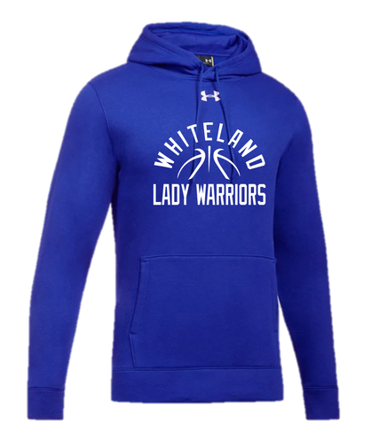 UA Hustle Fleece Hoody - WHITELAND GIRLS BASKETBALL