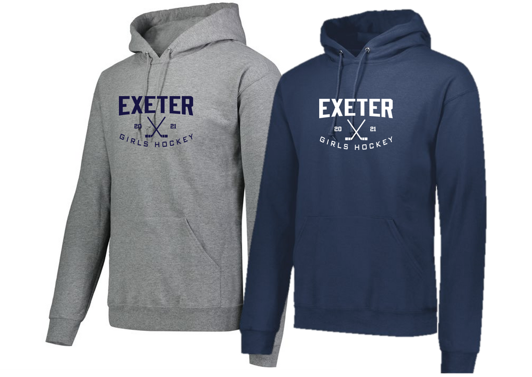 Hooded Sweatshirt - Exeter Girls Hockey