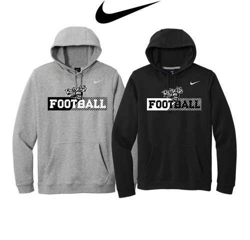 Nike Club Fleece Pullover Hoodie - Laona/Wabeno Football