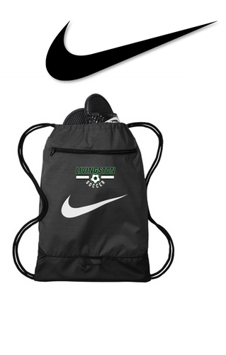 Nike Brasilia Gym Sack - LIVINGSTON SOCCER