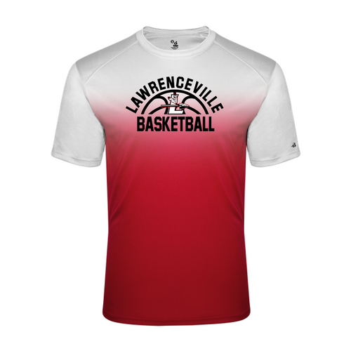 OMBRE PERFORMANCE TEE - Lawrenceville Basketball