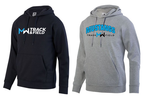 Hooded Sweatshirt - Adult - Midd-West Track & Field