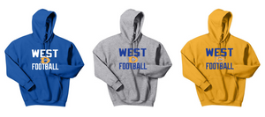 Hooded Sweatshirt - Downingtown West Football