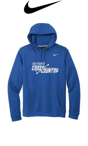Nike Club Fleece Pullover Hoodie - Scituate XC