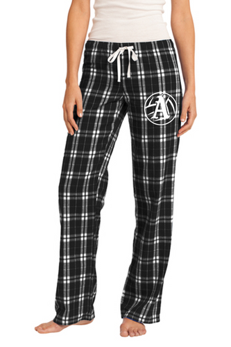 Ladies Flannel Plaid Pant - Appo Volleyball