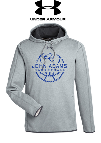 UA Double Threat Armour Fleece Hoodie - ADULT - John Adams MS Basketball