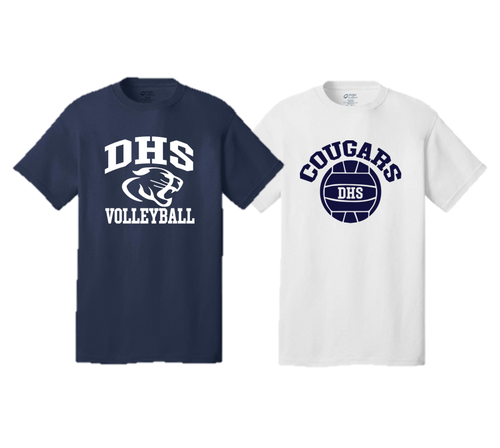 Adult Team Tee- Delcastle Volleyball