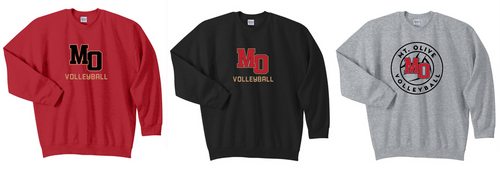 Crewneck Sweatshirt - Adult - Mt. Olive Volleyball