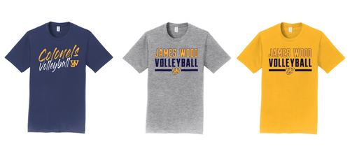 Fan Favorite Tee - JAMES WOOD VOLLEYBALL