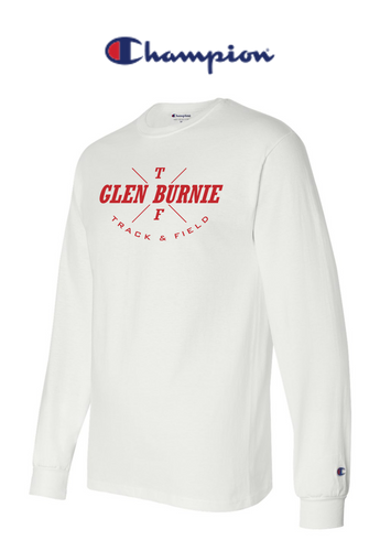 Champion Long Sleeve - Adult - Glen Burnie Track & Field