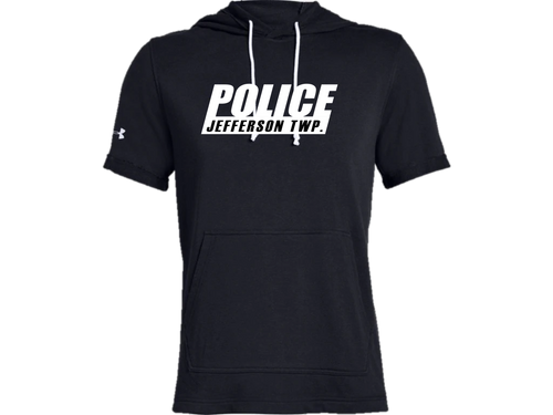 Men's UA Sportstyle Stadium Short Sleeve Hoodie - JEFFERSON POLICE DEPT