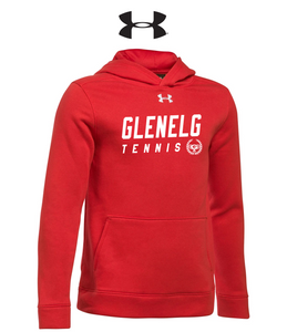 UA Hustle Fleece Hoody - Adult - GLENELG TENNIS