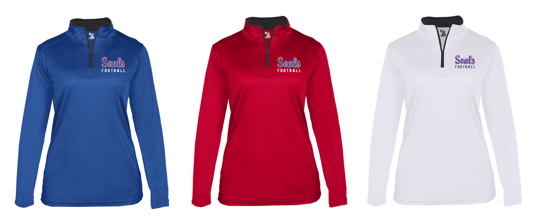 Ladies B-CORE Lightweight 1/4 Zip - Selinsgrove Football