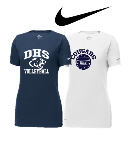 Nike Core Cotton Tee - LADIES - Delcastle Volleyball
