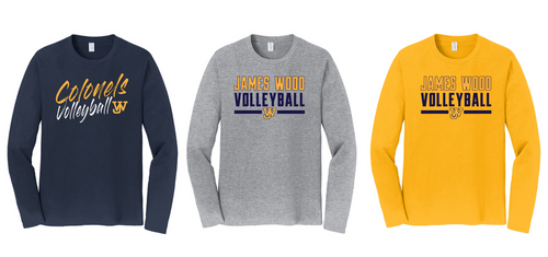 Fan Favorite LONG SLEEVE - JAMES WOOD VOLLEYBALL