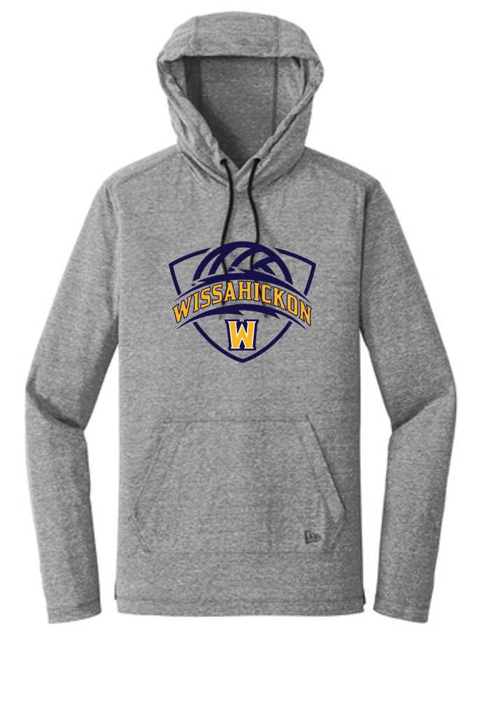 Adult Light Pullover Hoodie Tee - WISS VOLLEYBALL