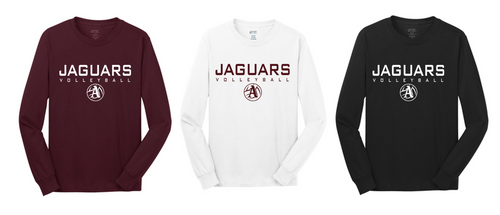 Fan Long Sleeve Tee Shirt- Adult - Appo Volleyball