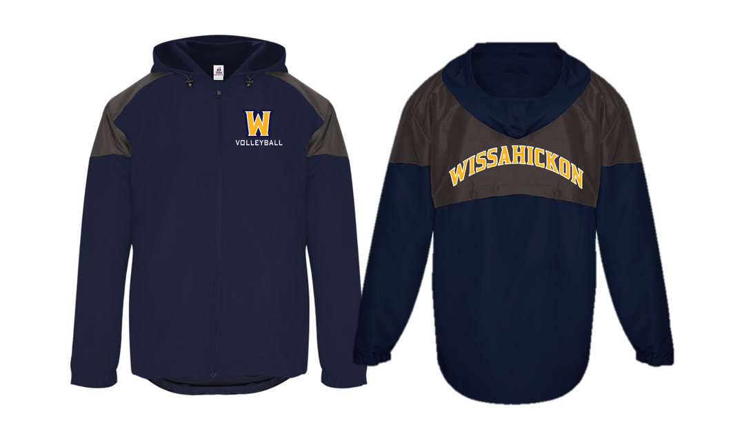 Adult RIVAL HOODED JACKET - WISS VOLLEYBALL