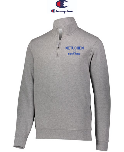 Champion Adult Quarter-Zip Pullover - Metuchen Swimming