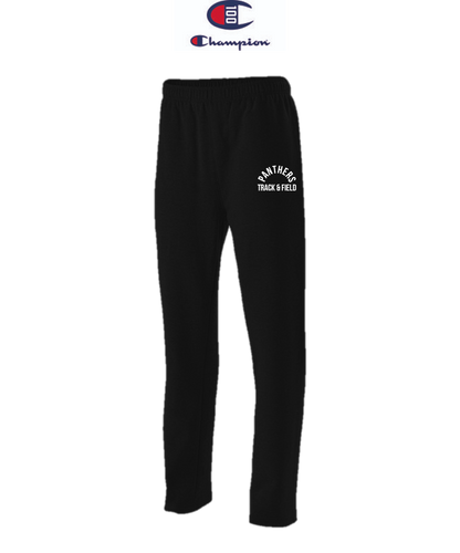 Champion Adult Open-Bottom Fleece Pant with Pockets - Plumstead Christian Track & Field