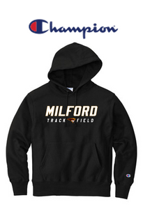 Champion Reverse Weave Hooded Sweatshirt - Adult - Milford Track & Field