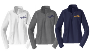 Stretch 1/2-Zip Pullover - Ladies - Needham XC