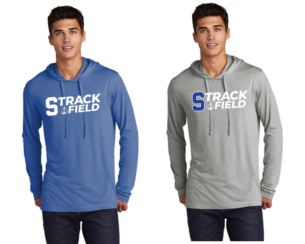 Tri-Blend Hooded Long Sleeve - Adult - Scituate Track and Field