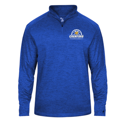 Tonal Blend 1/4 Zip - Cranford Girls Basketball