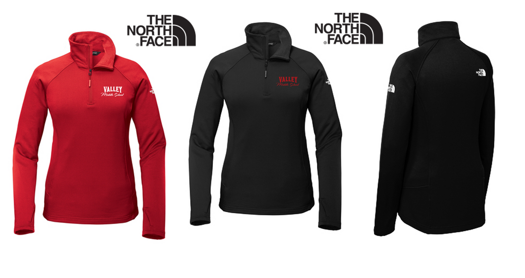 The North Face Mountain Peaks 1/4-Zip Fleece - LADIES -Valley Middle School Staff