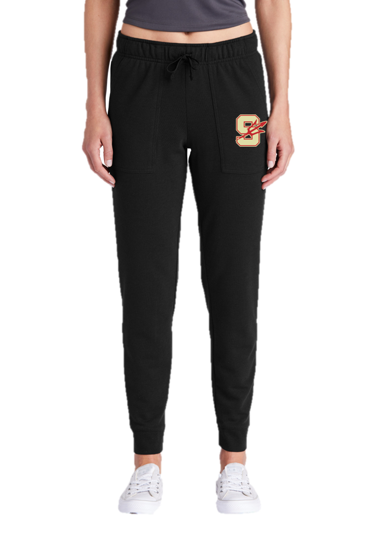 Ladies Tri-Blend Wicking Fleece Jogger - Stratford Volleyball