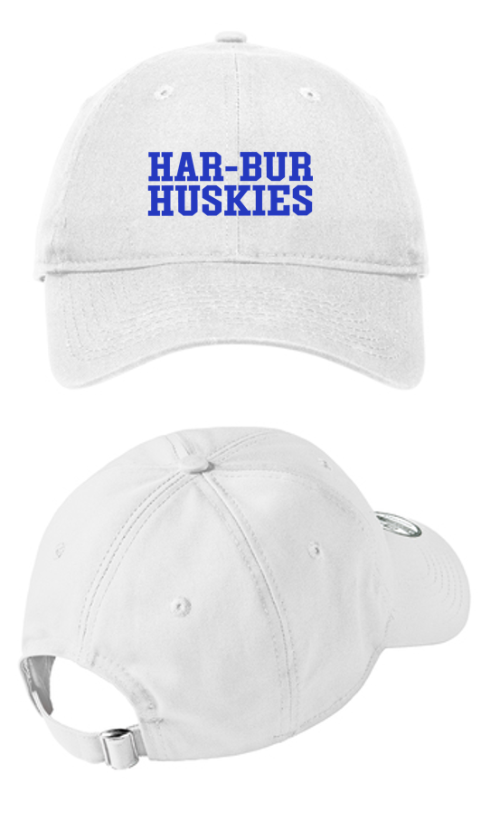 Adjustable Unstructured Cap - Har-Bur Middle School