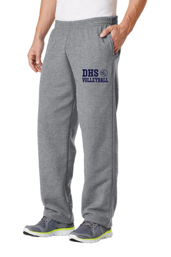 Fleece Sweatpant with Pockets - Adult- Delcastle Volleyball