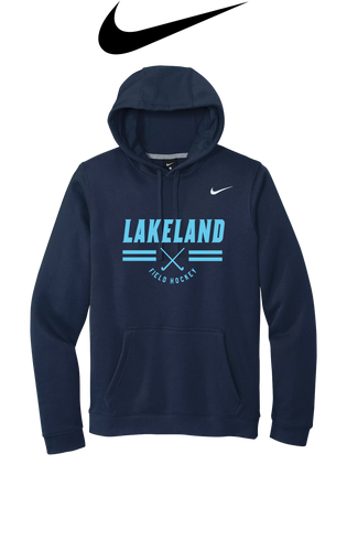 Nike Club Fleece Pullover Hoodie - LAKELAND FIELD HOCKEY
