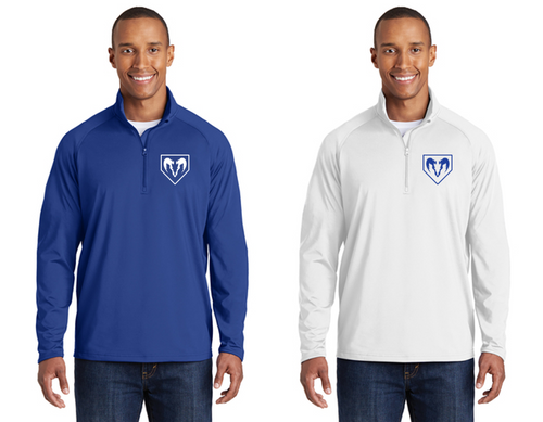 Sport-Wick Stretch 1/2-Zip - Adult - Salem Rams Baseball
