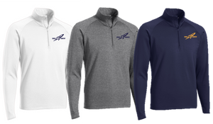 Stretch 1/2-Zip Pullover - ADULT - Needham XC