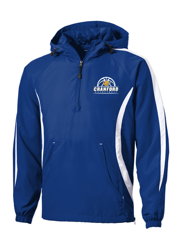 Adult Raglan Anorak - Cranford Girls Basketball