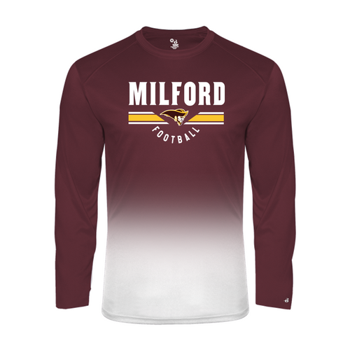 OMBRE LONG SLEEVE - Milford Football