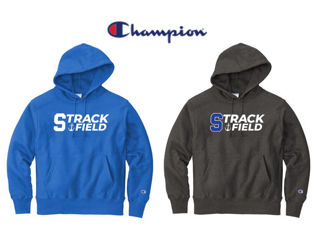 Champion Reverse Weave Hooded Sweatshirt - Adult - Scituate Track and Field