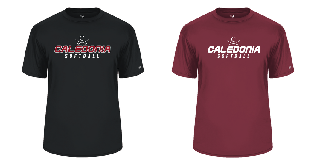 B-CORE TEE - Caledonia Softball