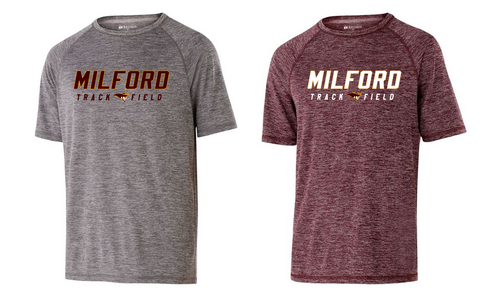 Electrify Performance Tee - Adult - Milford Track & Field